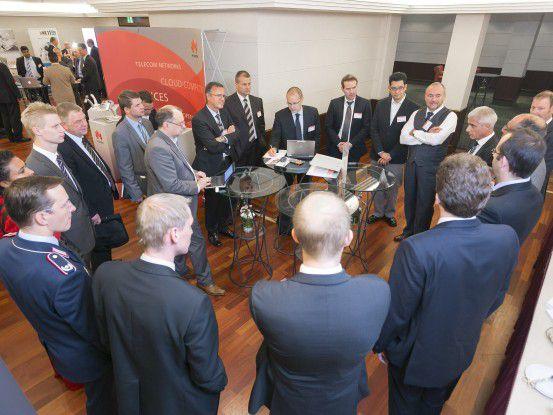 In verschiedenen Roundtables diskutierten die Konferenzteilnehmer aktuelle Herausforderungen im Bereich IT- und Cybersicherheit.
