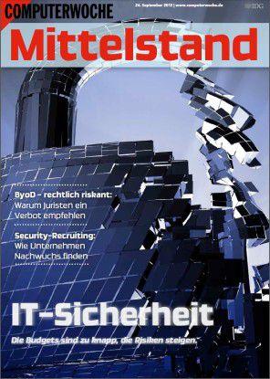16 Extra-Seiten über die Sicherheitslage im deutschen Mittelstand.