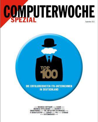 """Die 76 Seiten dicke Jahresreferenz für IT-Anwender: das CW-Sonderheft """"Top 100""""."""