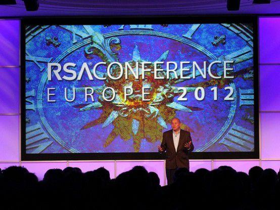 Art Coviello, Executive Vice President von EMC und Chairman von RSA, eröffnete die Europakonferenz des Security-Unternehmens.