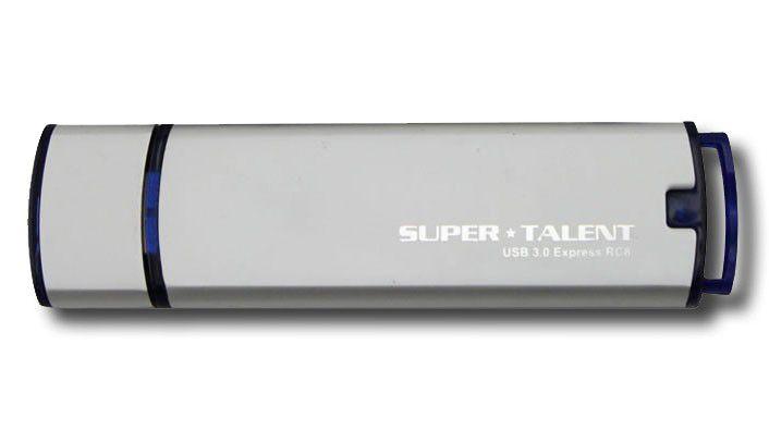 ... und von Super Talent freigegeben. Andere Sticks unterstützt das Unternehmen offiziell noch nicht.