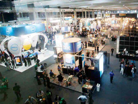 Mit 8000 Teilnehmern und rund 120 Ausstellern gehört die VMworld mittlerweile zu den größten IT-Konferenzen in Europa. Dieses Jahr fand sie in Barcelona statt.