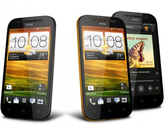 HTC One SV und HTC Desire SV