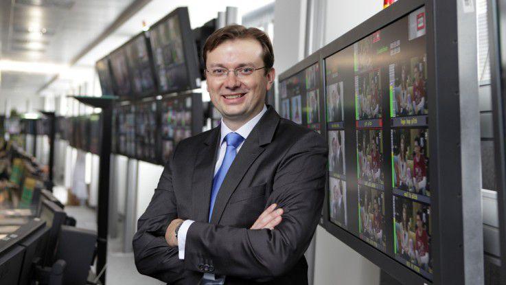 """Andreas König, CIO bei ProSiebenSat1: """"Noch vor wenigen Jahren waren wir ein reines TV-Haus, heute wachsen wir in neue Märkte hinein."""""""