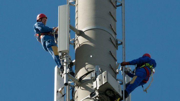 Hohe Ziele: Vor den Ballungsgebieten müssen erst die weißen Flecken mit LTE versorgt werden.
