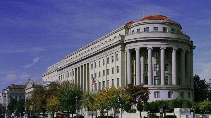 FTC-Dienstsitz: Das Apex Building in Washington, D.C.