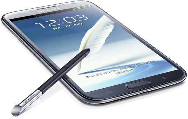 Samsung Galaxy Note 2: Der Nachfolger soll ein 6,3-Zoll-Display erhalten.