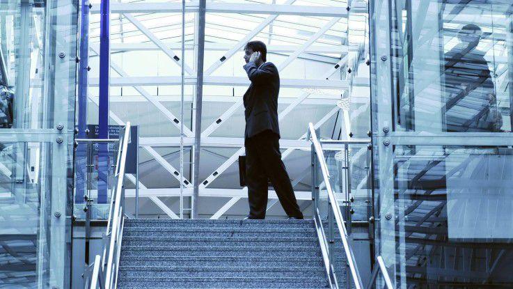 Oft sind für Berater Flugzeiten auch Arbeitszeiten.