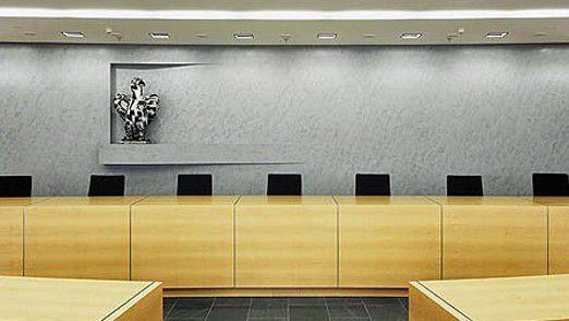 Bundesgerichtshof (BGH), Blick in den Großen Sitzungssaal