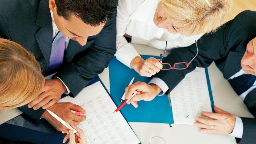 Wenn vier Personen in einer Gesprächsrunde sitzen, muss das noch lange nicht heißen, dass alle vom gleichen Ziel sprechen.