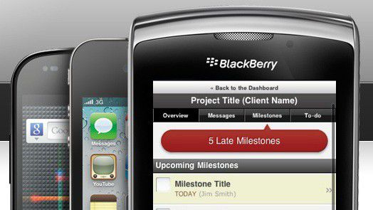 Mobiles Projekt-Management.