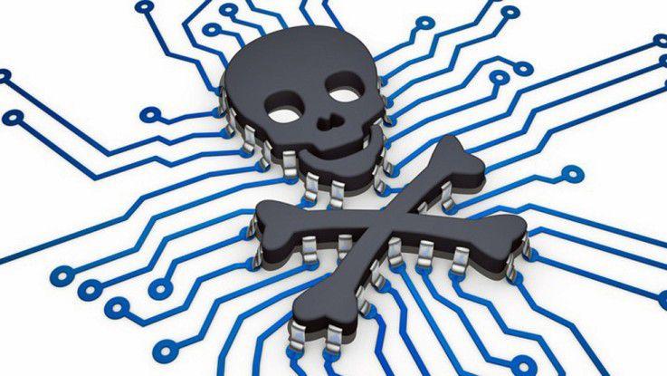 Viren infizieren zunehmend auch mobile Geräte.