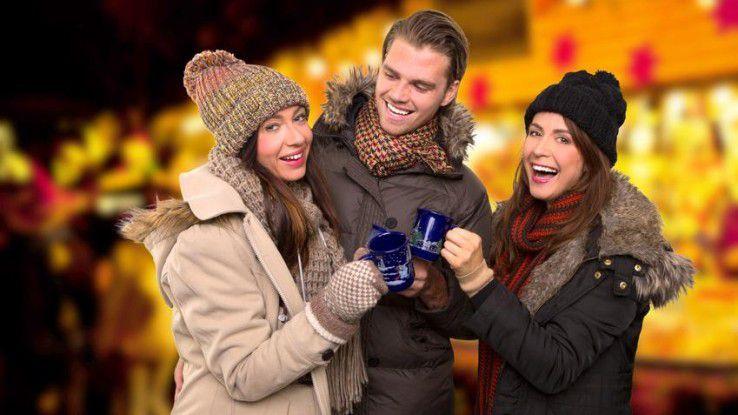 """In der Vorweihnachtszeit heißt es nicht nur """"Glühweintrinken"""", sondern auch """"Sicherer surfen""""..."""