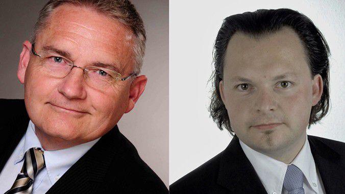 Personalberater Raimund Mrugalla (links) und Andy Beyer.