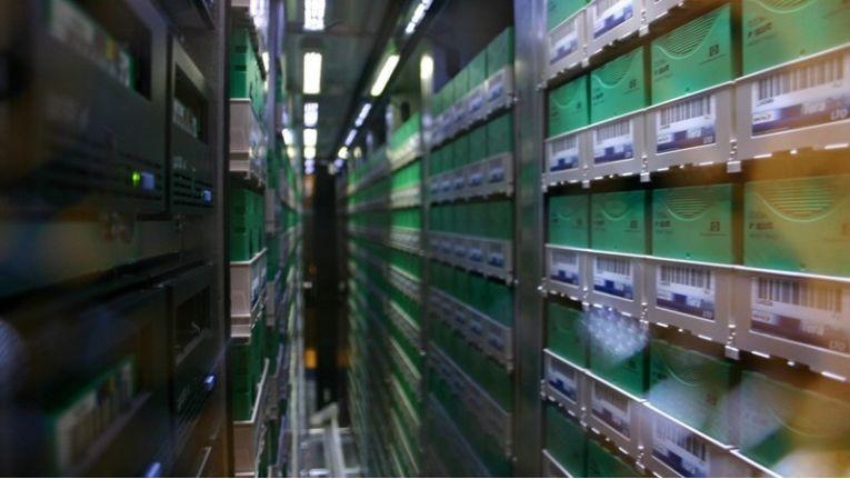 ... tatsächlich aber sieht es dort heute meist so aus wie hier: Die Cartridges sind wesentlich kleiner.