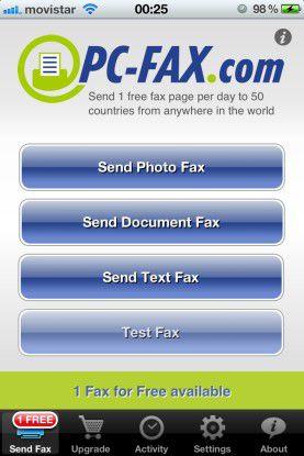 """Easy Office Desktop"" emuliert einen virtuellen Faxdrucker."