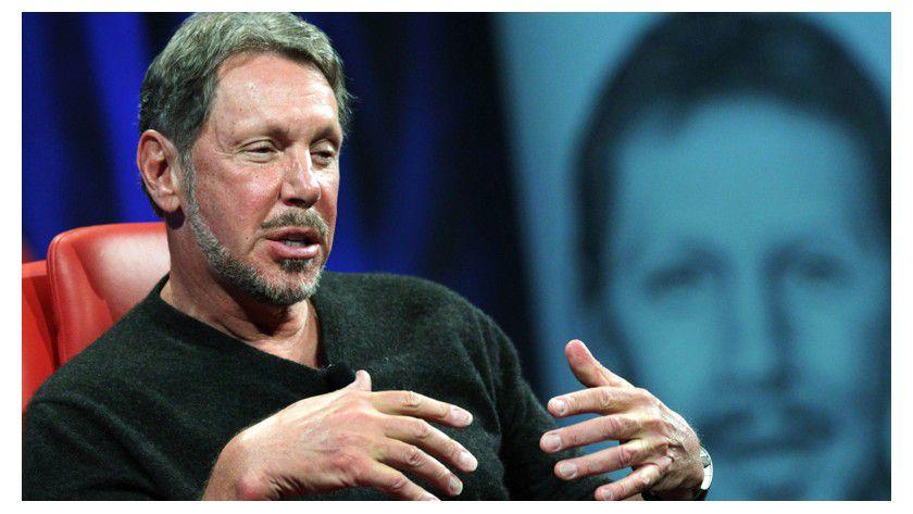 """Larry Ellison, der Microsoft früher gern als """"verurteilten Monopolisten"""" schmähte, vermarktet ab 12. März Oracle-Lösungen über die Azure-Plattform."""