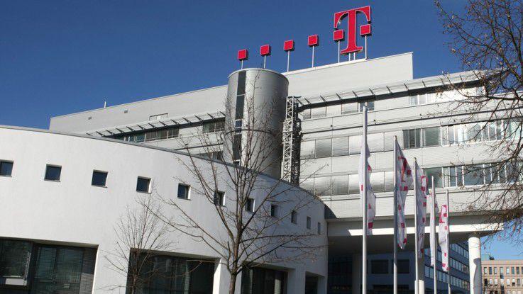 Die Konzernzentrale der Deutschen Telekom in Bonn