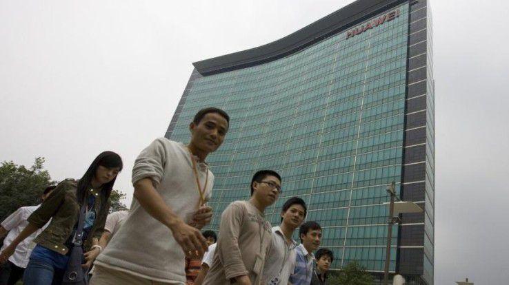 Der Huawei-Firmensitz in Shenzen.
