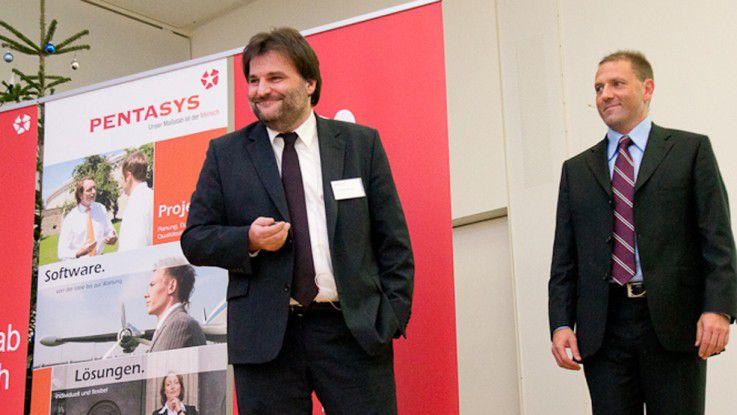 Die Pentasys-Vorstände Franz Wenzel (links) und Uwe Koch.