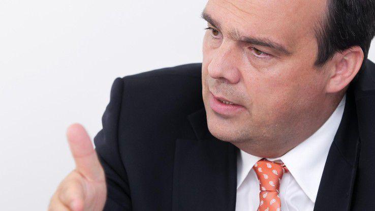 Hagen Rickmann, T-Systems: Preislich stehen wir im Wettbewerb zu Amazon.