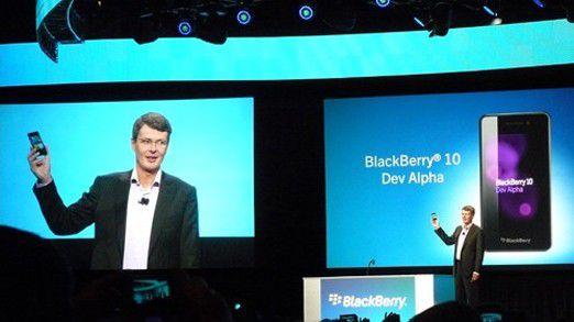 Schafft Firmenchef Thorsten Heins mit Blackberry 10 und den neuen Geräten den Turnaround?