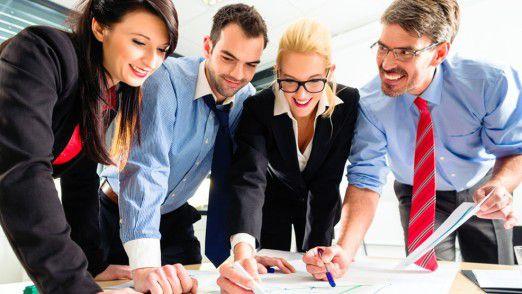Mithilfe von Tools wird das Projektmanagement im Team deutlich einfacher und effizienter.