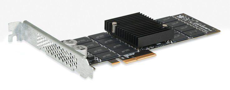Die Flash-Module von Fusion-io für die Direktverbindung mit PCI haben maximal 6 TByte Kapazität.