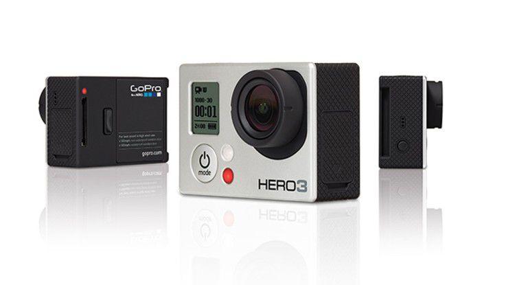 Die Hero-Kameras von GoPro sind besonders bei Sportlern beliebt.