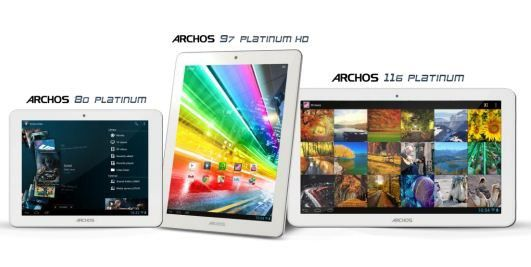 Archos Platinum: Günstige Quad-Core-Tablets