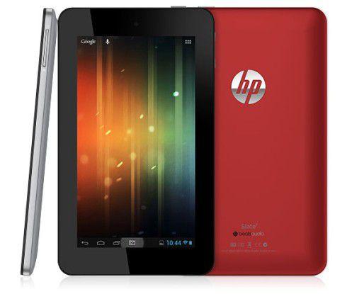 HP Slate 7: Schönling mit Pixeln