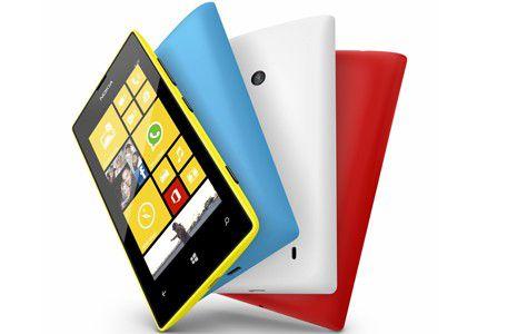 Das Nokia Lumia 520 soll besonders Smartphones-Einsteiger locken.