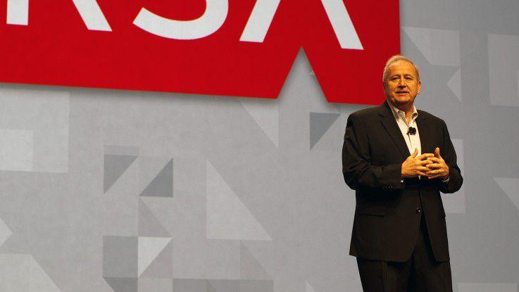 RSA-Chairman Art Coviello erkennt in Big- Data-Analysewerkzeugen einen neuen Ansatz für die IT-Security.