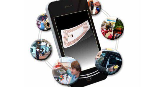 Hochgelobt, aber noch immer nicht auf breiter Front gelebte Praxis: der Funkstandard NFC.