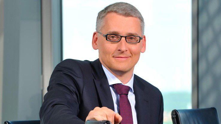 Jürgen Walter, Fujitsu: Wir müssen auf den wachsenden Wettbewerbsdruck reagieren.