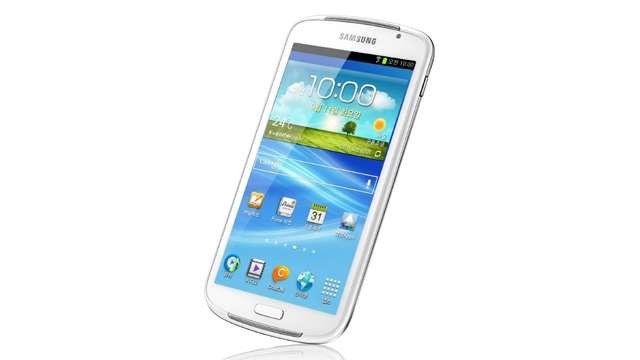 Vorbild für das Galaxy Mega? Der nur in Kore verfügbare Mediaplayer Samsung Galaxy Play mit 5,8-Zoll-Display.
