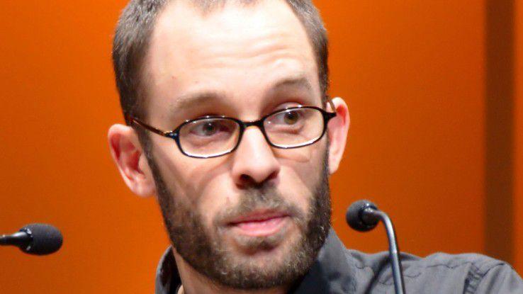 Daniel Domscheit-Berg (bei einem CCC-Kongress 2009)
