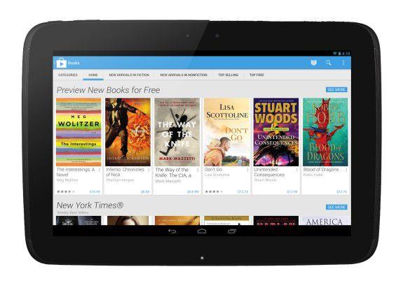 Das Angebot im Google Play Store wirkt jetzt aufgeräumter.