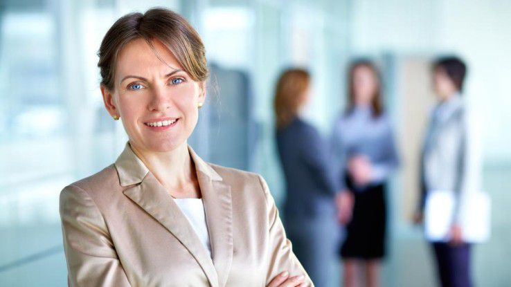 Noch sind Frauen in deutschen Führungstetagen selten.