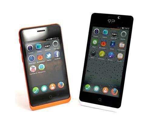 Nur kurz erhältlich: Die beiden Firefox-Smartphones Keon und Peak.