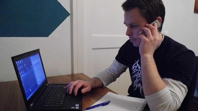 Benjamin Seifert stieg bei Computacenter als Trainee ein.