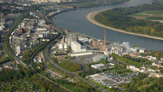 Das Evonik-Werk in Wesseling im Süden Kölns: Der Essener Konzern geht davon aus, künftig noch häufiger auf die SAP-Cloud zurückzugreifen.
