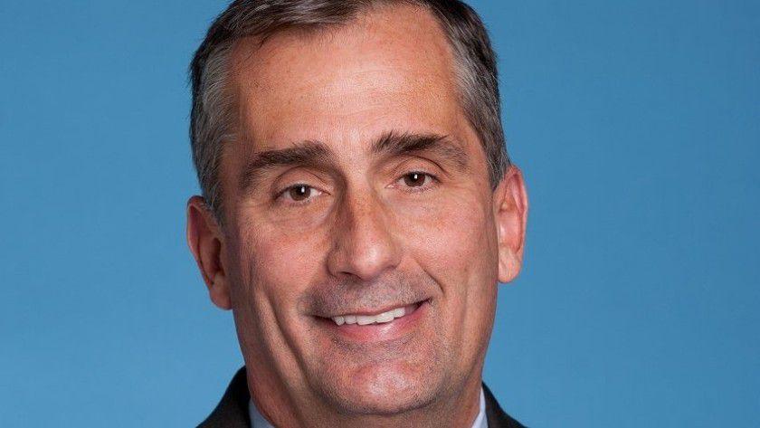 Intel CEO Brian Krzanich sieht optimistisch in die Zukunft.