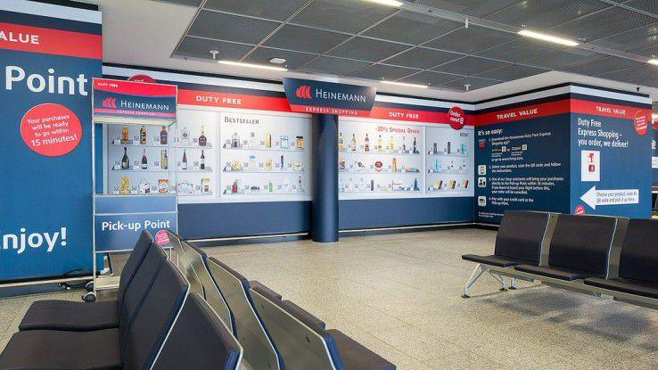 Bestellen am Gate: QR-Code-Shopping am Flughafen Frankfurt