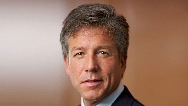 Co-CEO Bill McDermott hält an der Jahresprognose von SAP fest.