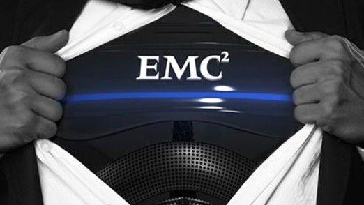 Schnitt trotz Superheldenkostüm nicht gut ab: EMC