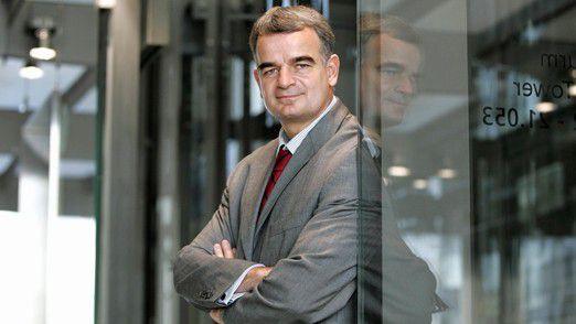 """Johannes Helbig, Chief Innovation Officer der Deutschen Post AG: """"Business-Transformation durch und mit IT wird sicher eines der Themen dieser Dekade."""""""
