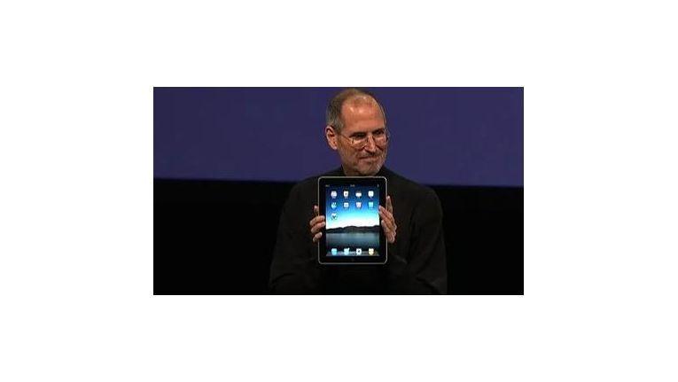 Steve Jobs und das Ur-iPad am 27.1.2010