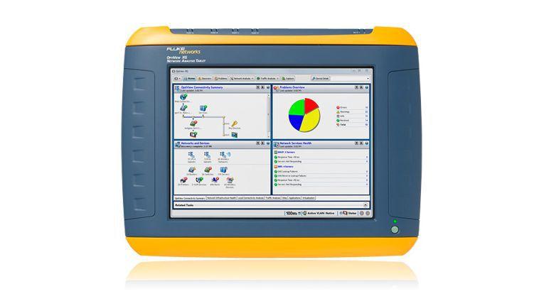 Spezial-Tablet für Netzwerk-Manager: OptiView XG von Fluke Networks