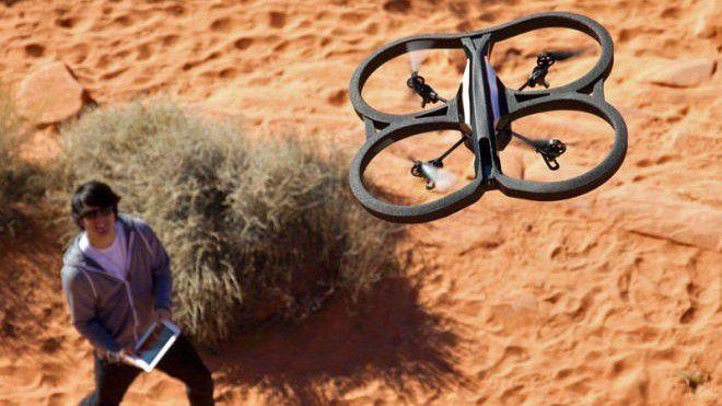 Werden Drohnen falsche GPS-Koordinaten übermittelt, können sie fehlgeleitet werden.